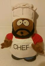 Chef from South Park - 38cm Tall - Soft/ Hard Toy - 1990's Collectable