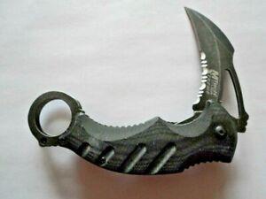 Mtech Xtreme, USA Folding Pocket Knife Stainless, Black, MX-A833