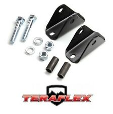 TeraFlex TJ Rear Upper Shock Bar Pin Eliminator Kit for 1984-2006 Jeep TJ LJ XJ