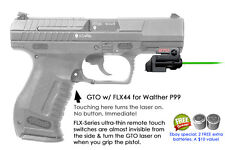 ArmaLaser GTO for Walther P99 GREEN Laser Sight w/ FLX44 Grip Touch Activation