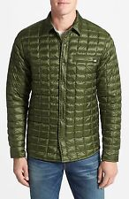 NWT, The North Face Reyes ThermoBall Shirt Jacket, retail for $149 GREEN