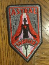 """Astral Traveler IRON SEW ON PATCH 3.5""""x 2"""" Alien"""