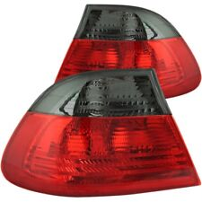 Anzo Tail Lights Red/Smoke Set For 00-03 BMW 3 SERIES E46 / 01-06 M3 2DR #221202