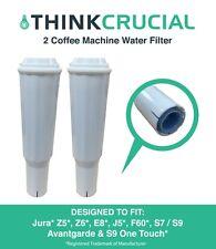 2 Jura Clearyl White Water Filter Fits Coffee Machines Z5 Z6 E8 E9 J5 F60 64553