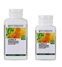 NUTRILITE AMWAY LECITHIN-E VITAMIN E CHEWABLE DIET NATURAL 150/270 TABLETS
