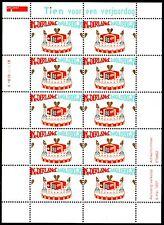 Nederland  NVPH V1721 -  GREETING STAMPS birthday  minisheet  - 1997    - **MNH