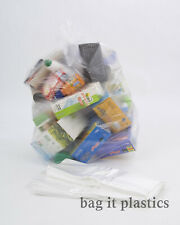 More details for refuse / recycling bags clear  rubbish sacks standard 64 or heavy duty 140 gauge