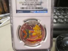 2013 CANADA $20 AUTUM BLISS COLORIZED FIRST RELEASES NGC PR69UC 090