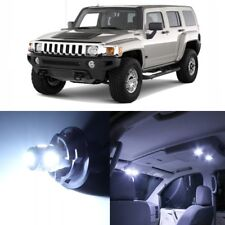 9 x Xenon White LED Interior Light Package For 2006 - 2010 Hummer H3 + PRY TOOL