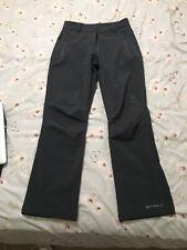 Ladies Size 10 Mountain Warehouse Softshell Ski Trousers Dark Grey
