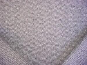 2-1/4Y Ralph Lauren LCF65809F Grey Flannel Herringbone Wool Upholstery Fabric