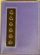 Pioneer Photo Album CMB46 4x6  36 Pocket PURPLE Leatherette