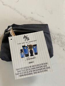 $30 The Art of Shaving Men's Shaving Starter Kit W/ Bag - Lavender Essential Oil