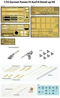 1/35 German Panzer IV Ausf.H Detail-Up Parts Big Set for Academy Kits