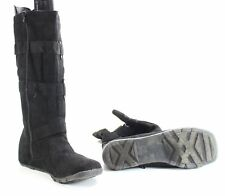 Designer Brand NEW Black Women's Size 9M Slouchy Mid-Calf Boots $39- #241