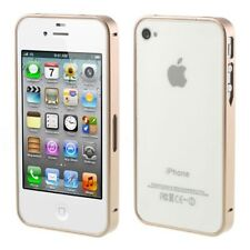 Apple iPhone 4 4s metal bumper Buckle closure slim frame Smart Thin oro