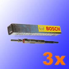 3 x 0 250 402 002 Bosch Bougie de Préchauffage BMW 3er E46 E91 320d 5er E60 520d