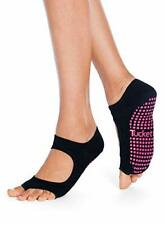 Tucketts Womens Yoga Pilates Socks Non Anti Slip Toeless Socks with Grips, No