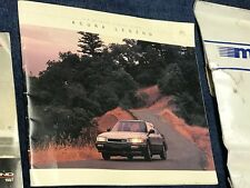 Acura Legend L LS GS coupe sedan sales brochure literature ** ONLY ONE ONLINE **