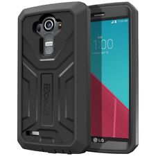 Poetic Revolution Dual-Layer Built-In Screen Hybrid Case for LG G4 (2015) Black