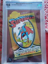 Superman #1 | CBCS 9.8 NM/M | Millennium Edition | Chrome variant | HTF (612 75)