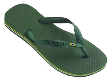 Havaianas Uomo Brasil Flip Flops Verde 45/46 EU (43/44 Br)