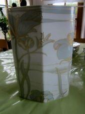 Rosenthal Vase Entwurf Ernst Fuchs floral dezente Farben