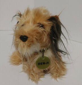 "Vintage Benji 7"" Plush Stuffed Dog Figure By Dakin"