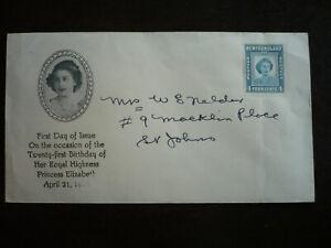 Postal History - Newfoundland - Scott# 269