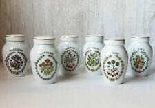 Herb and Spice Jars - Gloria Concept Inc. The Franklin Mint - Fine Porcelain