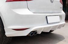 VW GOLF 7 GTI GTD LOOK SPOILER POSTERIORE SOTTO PARAURTI DIFFUSORE