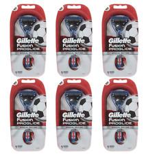6 x Manual de afeitar de Gillette Fusion ProGlide Cuchilla De Afeitar afeitado Recortador de precisión