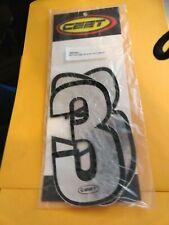 Ceet Racing Decals Stickers Graphics Chromeblack Outline 6 1234567890