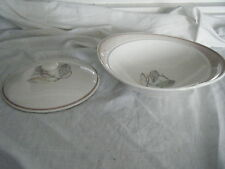 C4 Pottery  Susie Cooper Feather Tureen 26x13x9cm R7