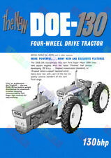 DOE-130 (Ford Super Major 5000 Unit) Tractor Poster (A3)