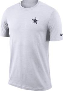 Nike Mens NFL Dallas Cowboys Coaches On Field Dri Fit T-Shirt Tee 2XL XXL NEW