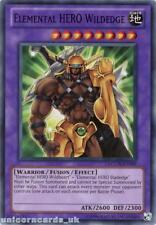 LCGX-EN049 Elemental HERO Wildedge Common UNL Edition Mint YuGiOh Card