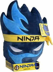 "NINJA 15"" GAMER PLUSH  CUSHION - New & Presentation Boxed Gaming Pillow Fortnite"