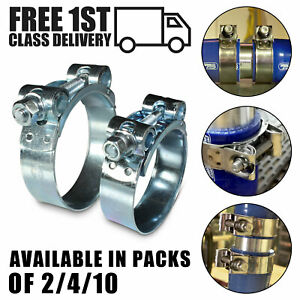 Mikalor T Bolt Clamps Supra Hose Pipe Clips W1 Zinc Plated Heavy Duty Exhaust