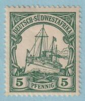 GERMAN SOUTH WEST AFRICA 14 MINT  HINGED OG * NO FAULTS EXTRA FINE!