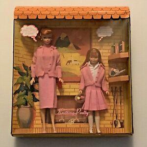 Barbie & Skipper Knitting Pretty Dream House Gift Set - Ltd. Edition Vintage