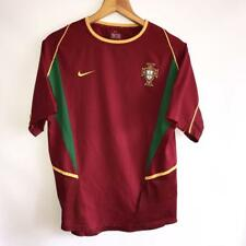 RARE PORTUGAL HOME 2002/04 ORIGINAL VINTAGE FOOTBALL SHIRT JERSEY NIKE SIZE S