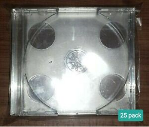 25 x CD Wraps for Double 'Fatboy' CDs -  Resealable protective outer sleeves