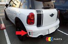 MINI Nuovo Originale COUNTRYMAN R60 S JCW Griglia Griglia Paraurti Posteriore Sinistro N/S 9804299