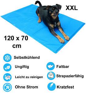 Hunde Kühlmatte groß 120 x 70 cm