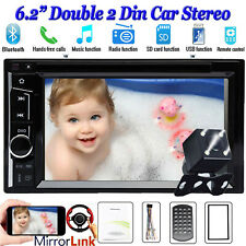 For Land Rover 2 Din 6.2'' Car Stereo Audio Radio Bluetooth USB Head Unit Player