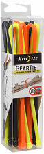 """Nite Ize Tough Rubber Gear Tie Pro Pack 12"""" Assorted Pack Of 12 GTPP12-A1-R8 NEW"""