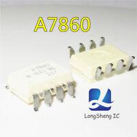 10PCS HCPL-7860 A7860 Isolated 15-bit A/D Converter SOP8 new
