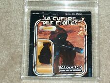 Vintage Star Wars MECCANO JAWA MOC AFA RARE U80 UNCIRCULATED!! 1978 20 back!