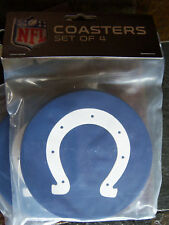 1 - 4 Pack Vinyl Drink Coasters - Indianapolis Colts